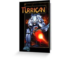 Turrican Greeting Card