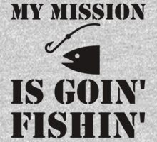 My Mission Fishing One Piece - Short Sleeve