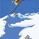Sky Skier by SFDesignstudio