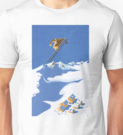 Sky Skier Unisex T-Shirt