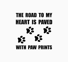 Paved Paw Prints Unisex T-Shirt