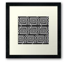 Optical Art Design Framed Print
