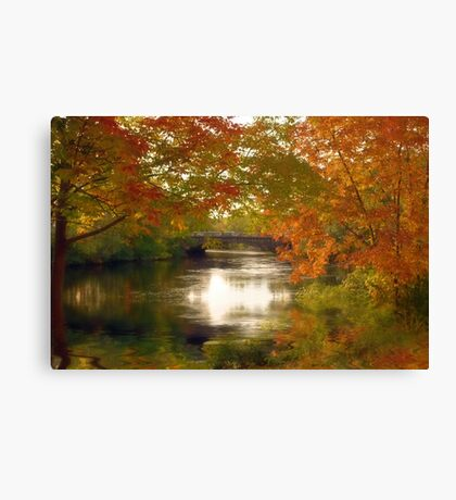 Fall Afternoon Canvas Print