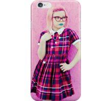 Pretty In Pink & Blue iPhone Case/Skin