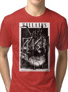 Villains I AM A MONSTER Tri-blend T-Shirt