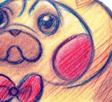 Electric Pug Sticker