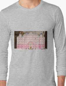 The Grand Budapest Hotel - Wes Anderson Film Long Sleeve T-Shirt