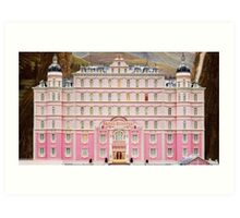 The Grand Budapest Hotel - Wes Anderson Film Art Print