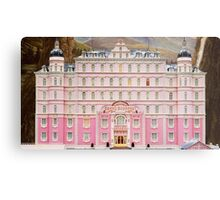 The Grand Budapest Hotel - Wes Anderson Film Metal Print