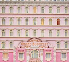 The Grand Budapest Hotel - Wes Anderson Film Sticker