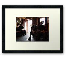 Traveller's Rest  (Journey's End) Framed Print