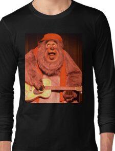 Big Bear Big Al Blood On The Saddle Country Bears Bear Long Sleeve T-Shirt