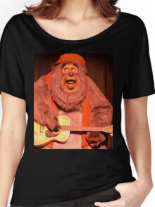 Big Bear Big Al Blood On The Saddle Country Bears Bear Women's Relaxed Fit T-Shirt