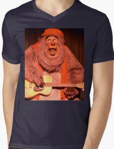 Big Bear Big Al Blood On The Saddle Country Bears Bear Mens V-Neck T-Shirt