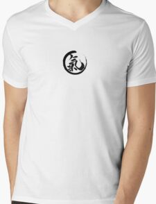 Enso Qi Mens V-Neck T-Shirt