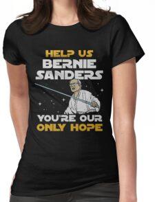 star wars bernie Womens Fitted T-Shirt