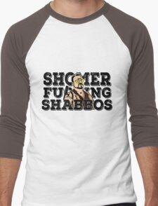 Shomer Shabbos- the big lebowski Men's Baseball ¾ T-Shirt