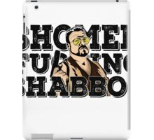 Shomer Shabbos- the big lebowski iPad Case/Skin