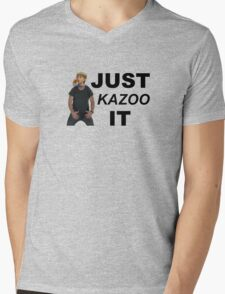 Just Kazoo It Mens V-Neck T-Shirt