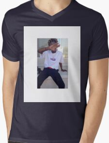 IAN CONNOR X BOX LOGO Mens V-Neck T-Shirt