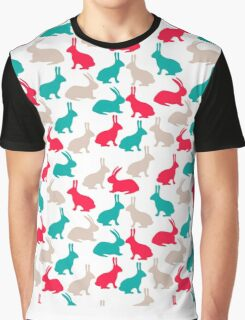 Spring easter rabbits Graphic T-Shirt