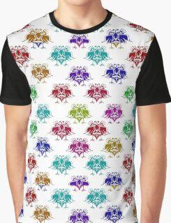 Fantasy Birds Pattern  Graphic T-Shirt