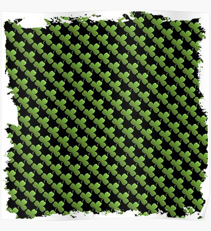 Saint  patricks day abstract background Poster