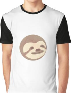 Sloth happy face - Shirts, mugs, stickers  Graphic T-Shirt