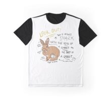 Shark Bunny Graphic T-Shirt