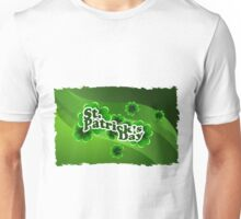 patricks day abstract Unisex T-Shirt