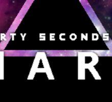 30 Seconds to Mars: Galaxy Design Sticker