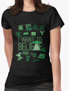 Design in the Key of X Womens Fitted T-Shirt
