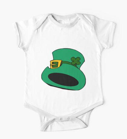 patricks day hat One Piece - Short Sleeve