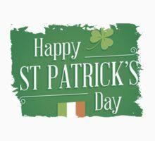 patricks day irish flag One Piece - Short Sleeve