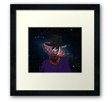 future space Framed Print