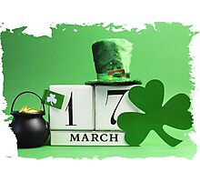 patricks day March 17 Photographic Print
