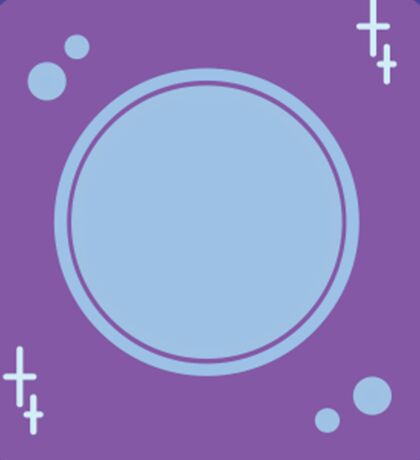 Planet Vector Sticker
