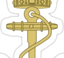 Søværnets Operative Kommando - Forsvaret (Emblem of the Royal Danish Navy) - Logo Sticker