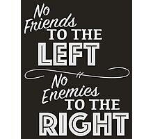Friends and Enemies Photographic Print