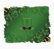 Saint Patricks Day Hat Kids Tee