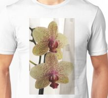 Spotted yellow orchid Unisex T-Shirt
