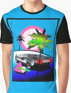 Beach Cruisn' 1990 Graphic T-Shirt