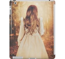 Autumn in the park iPad Case/Skin