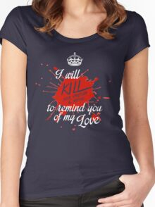 To remind you of my love Women's Fitted Scoop T-Shirt