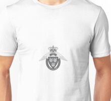 Flyverhjemmeværnet (Air Force Home Guard) Logo Sort (Black) Unisex T-Shirt