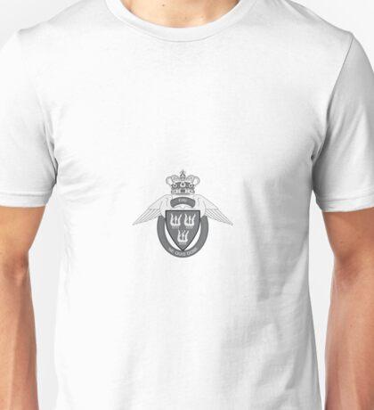 Flyverhjemmeværnet (Air Force Home Guard) Logo Sort (Black) Unisex T-Shirt