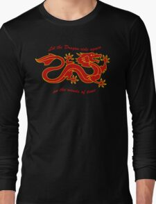 The Dragon Banner (Color) Long Sleeve T-Shirt