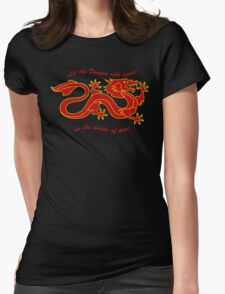 The Dragon Banner (Color) Womens Fitted T-Shirt