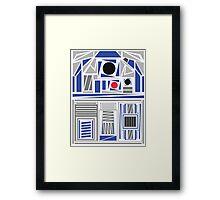 R2Deco Framed Print