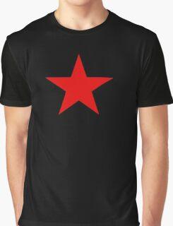 Communist Red Star Graphic T-Shirt